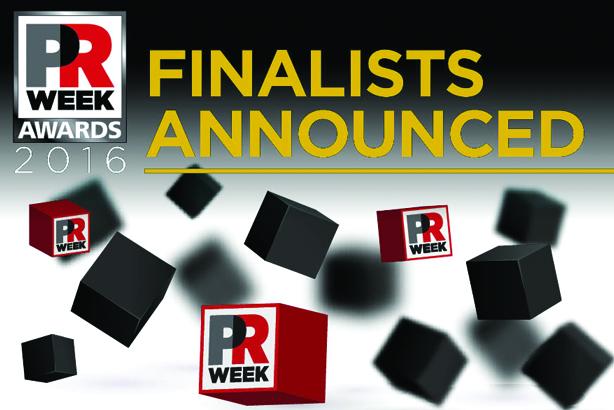 PRWeek US Awards 2016 shortlist revealed