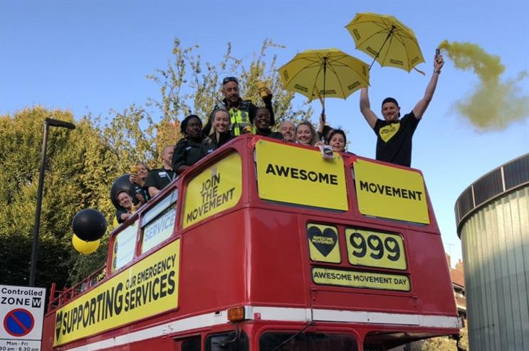 London Ambulance Service led PR activity around the #AwesomeMovement Day campaign
