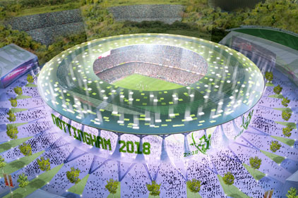 Cup bid: England is bidding for the 2018 World Cup