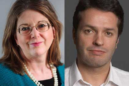 President elect candidates: Sally Sykes and Rob Brown