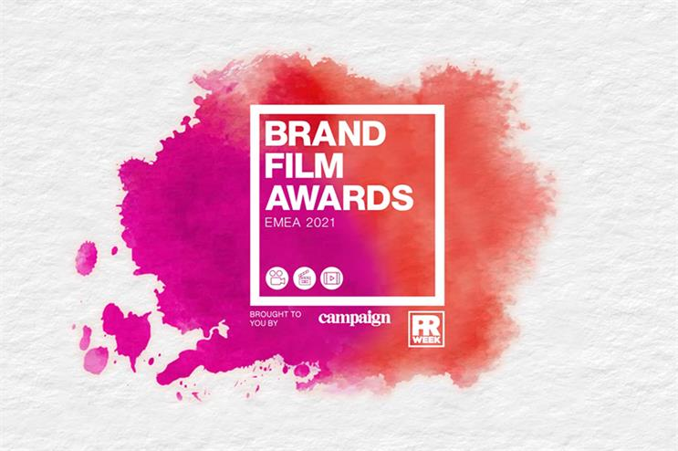 Brand Film Awards EMEA 2021: first tranche of winners revealed today