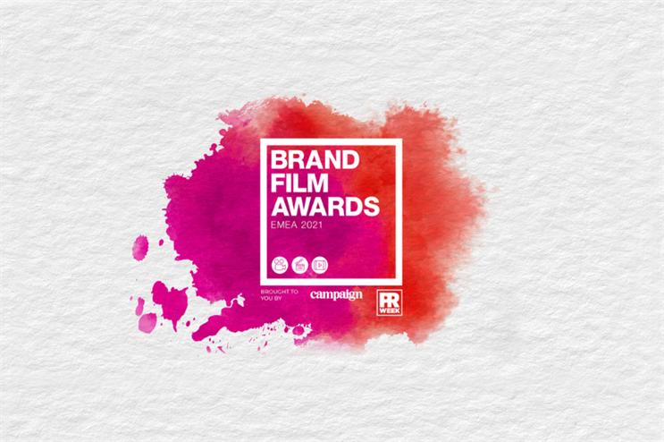 Brand Film Awards EMEA 2021 shortlist revealed