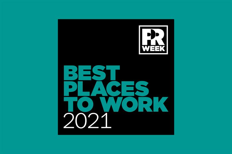 PRWeek UK Best Places to Work Awards 2021 opens for entries