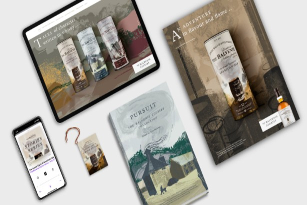 Whisky maker launches new collection with storytelling campaign