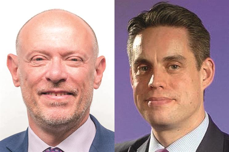 Andy Tighe (left) is leaving the Home Office later this month, to be succeeded by Simon Baugh (right)