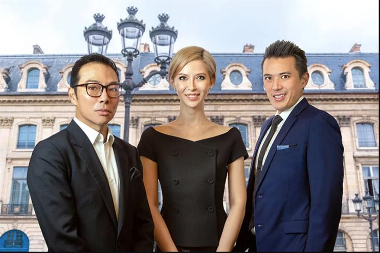 Founders of Bellagraph Nova Group (from left): Terence Loh, Evangeline Shen, Nelson Loh