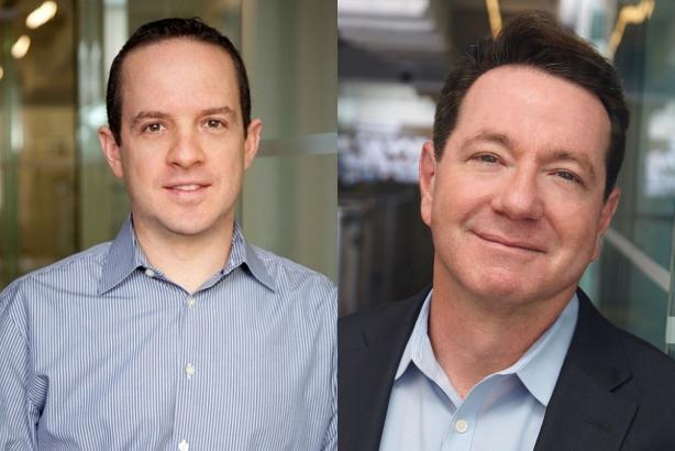 Ted Birkhahn and Ed Moed