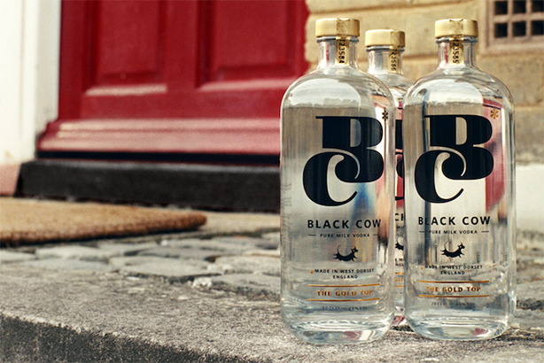 The Romans recreated the iconic '80s milk ad for Black Cow vodka