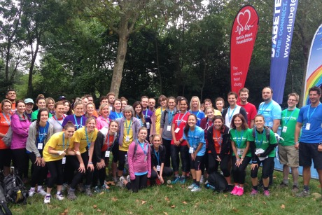 Flack: Blue Rubicon race back to the office to raise money for The Rainbow Trust