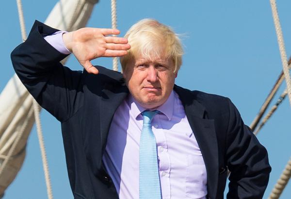 Boris Johnson - the new British Foreign Secretary.