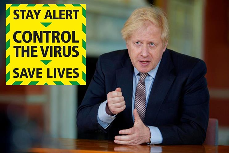 Boris Johnson delivers a Sunday evening national address explaining the government's lockdown plans (Photo: Getty Images)