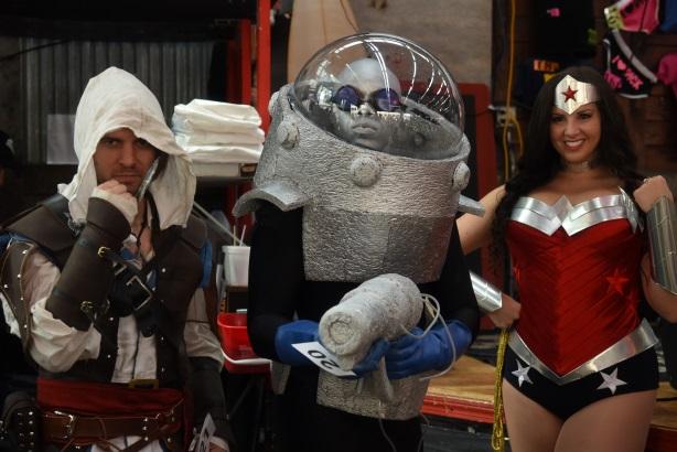 Boston Comic Con: Characters welcome