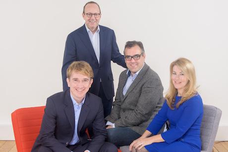 MWW and Braben: (l-r) Matt Bourn, Michael Kempner, Paddy Herridge, Sarah Locke