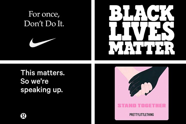 'Generic statements are a distraction' and 'talk is cheap' – PR leaders on brands supporting Black protestors