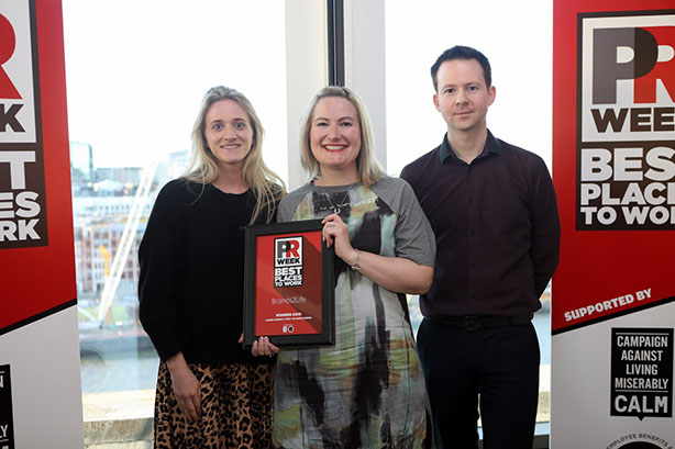 UK Best Places to Work Awards 2019 winners - Large Agency