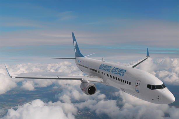 Manifest's final work with BrewDog was the maiden voyage of a craft beer airline.