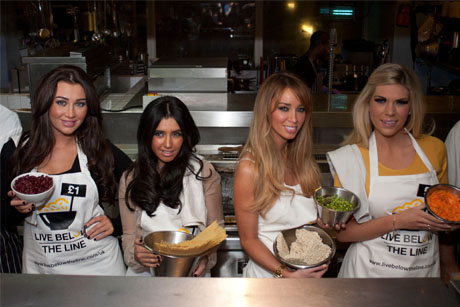 TOWIE girls: raising awareness of the Global Poverty Project