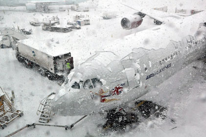 Snowbound: Grounded Heathrow in the run-up to Christmas