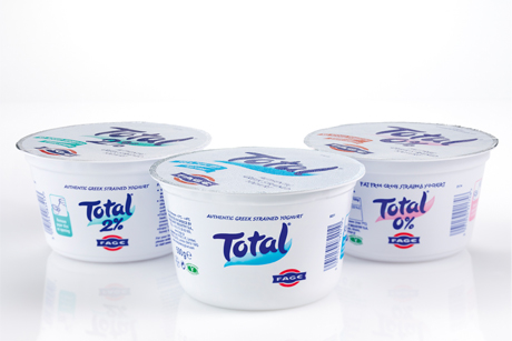 Total Greek yoghurt: UK drive