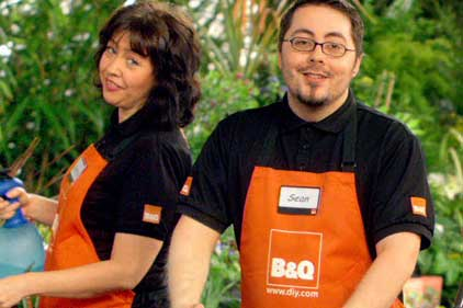 Kingfisher: owner of B&Q