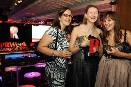 Revellers: PRWeek Awards 2010