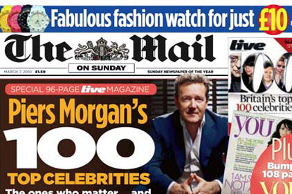 Mail on Sunday: has Brown Lloyd James handling its comms