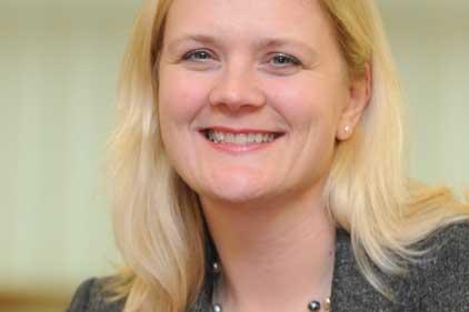 Karen Porter: takes role after six-month secondment