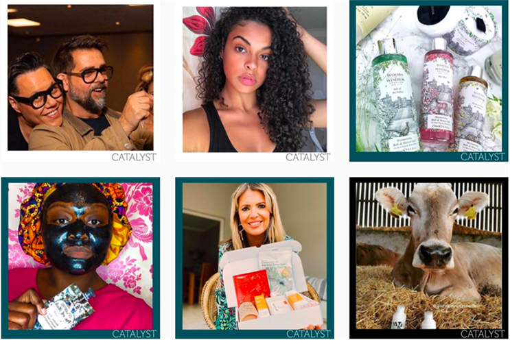 Catalyst specialises in hair, beauty and lifestyle PR (Photo: Instagram)