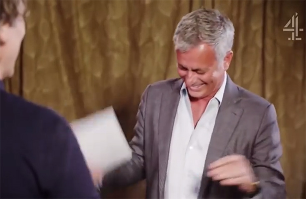 Watch: Channel 4 has Mourinho in stitches for Stand Up To Cancer video campaign