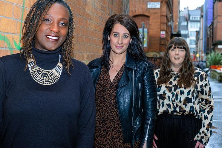 Social senior appointments (L-R): Claire Quansah, Zoe Tatton and Sophie Steele