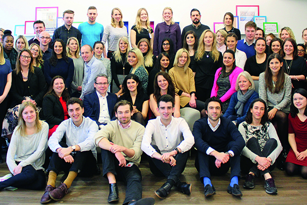 PRWeek UK Best Places to Work Awards (Large Agency): Gold winner - Cohn & Wolfe