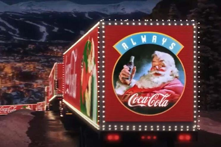 Holidays are coming: campaign is often described as the 'unofficial start of Christmas'