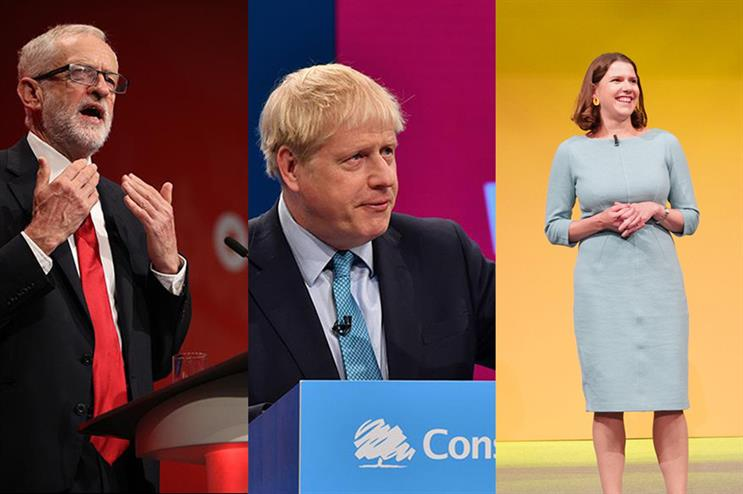 What is the cost to the parties of not going ahead with this year's conferences? (pic credits for Johnson and Corbyn: Getty Images)