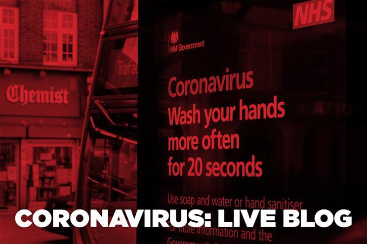 Coronavirus live blog: The impact on PR and comms