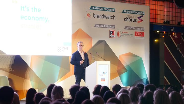 """""""Make yourselves heard,"""" Sir Craig Oliver tells CommsCon"""