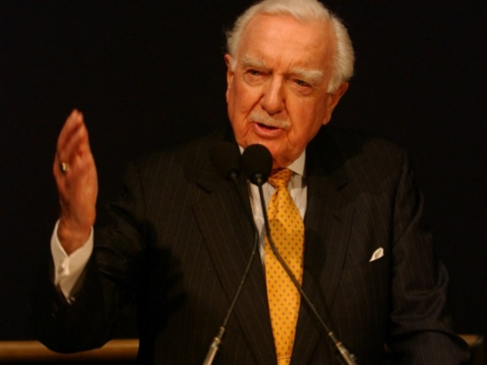 """Walter Cronkite's """"voice of truth"""" is much missed in today's febrile media environment."""