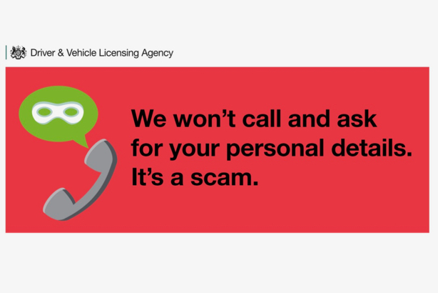DVLA campaign: Warns motorists not to respond to phishing