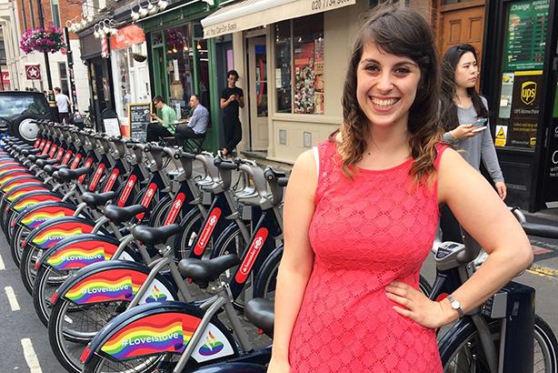 No, I don't drive a train, says Danielle Eddington