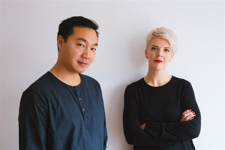 Doran, pictured with Fanclub's Adrian Ma, who she will continue to work with in her NED role
