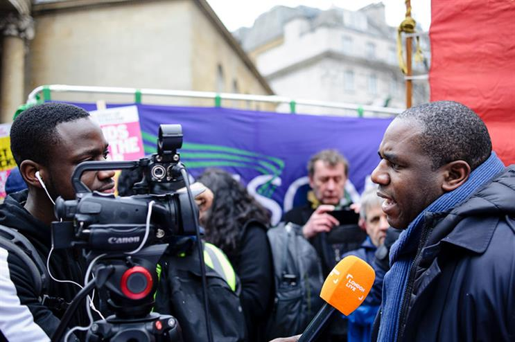 David Lammy (R) is the Parliamentary Labour Party's best spokesperson, according to a new poll (pic credit: Getty Images)