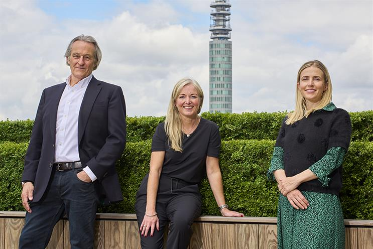 (L-R) Nigel Howes, Louise Vaughan and Heather Baker