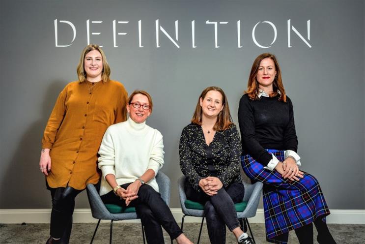 L-R: Louise Watson-Dowell, Sandra Hobson, Ellie St George-Yorke, Rosanna Head