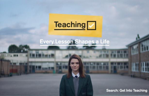 DfE recruitment campaign positions teachers as life-changers