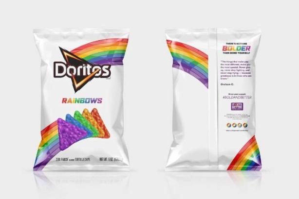 Doritos' rainbow makeover is pretty and prolific