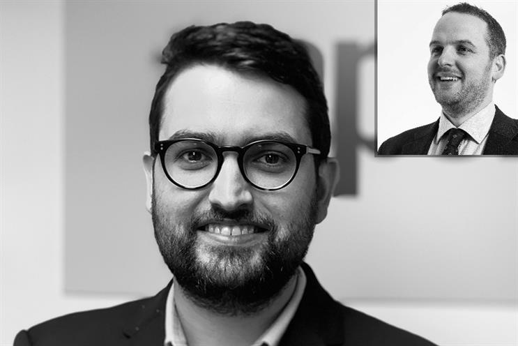 Apella's new hires Doug Miller and Andrew Brown (inset).