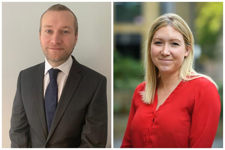 New appointments (L-R): Dan Pike and Kate Cunningham