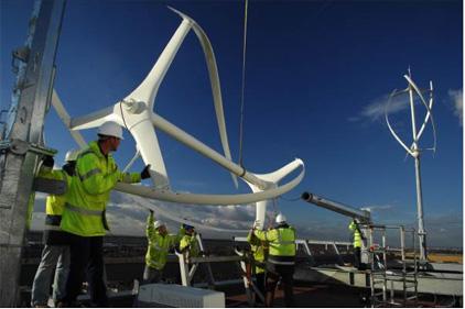 Wind turbine manufacturer: Quietrevolution