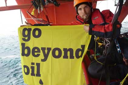 Direct action: Greenpeace