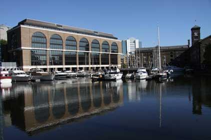 St Katharine Docks: central London's only marina