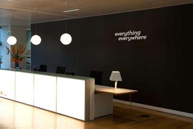 Everything Everywhere: 30 per cent reduction to comms team